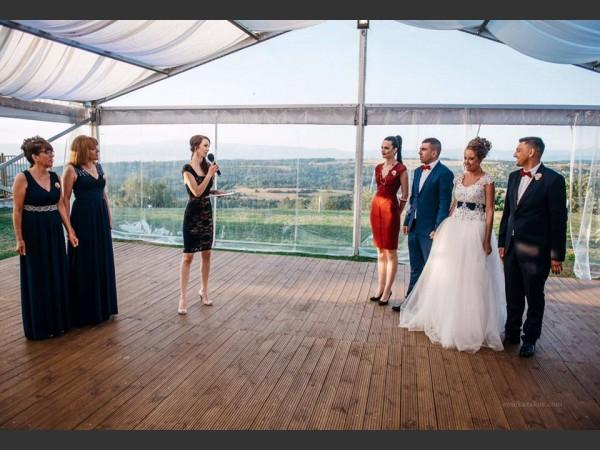 Водещ сватба.